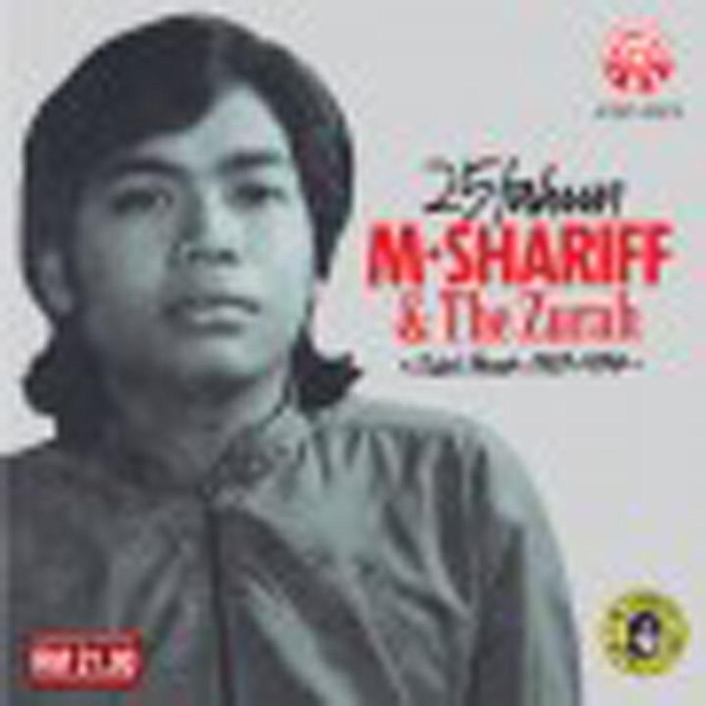 m shariff & the zurah 25 tahun cd 20612 (front)