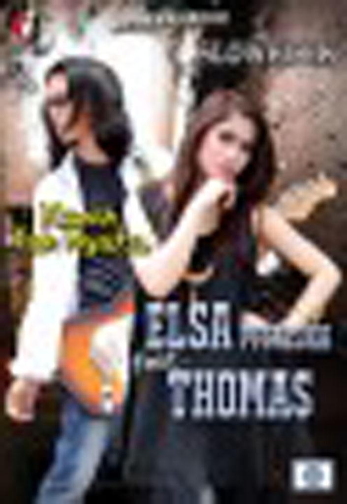 ELSA PITALOKA & THOMAS (SLOW ROCK) - Kasih Tak Nyata VCD 79359 (front)