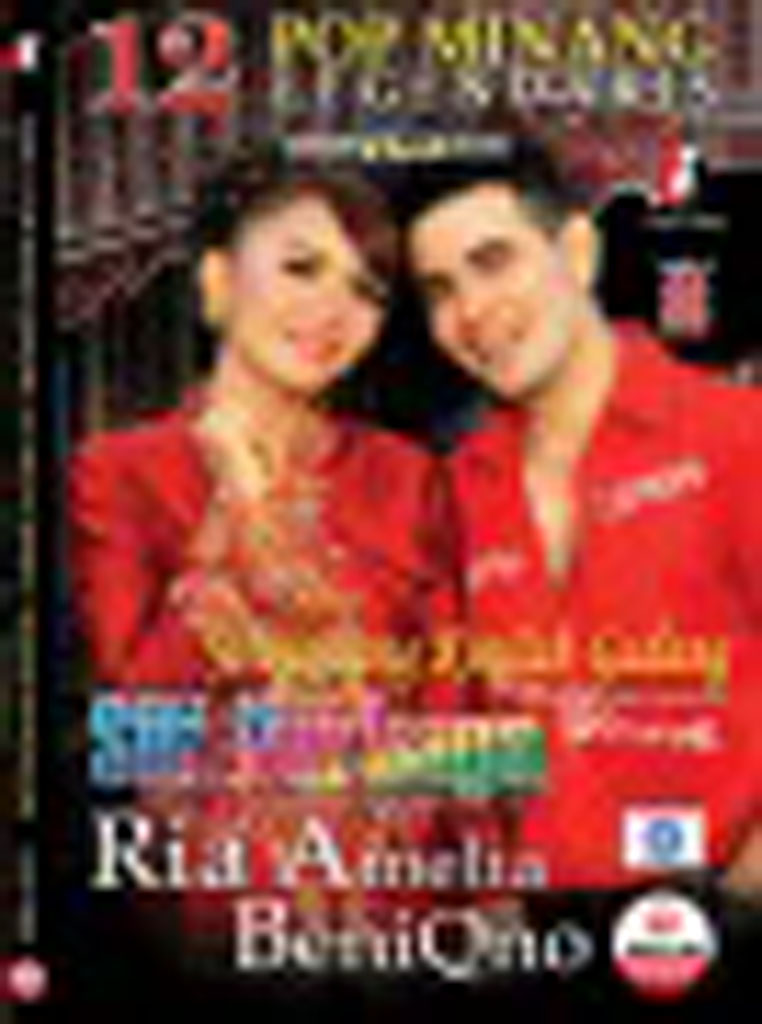 RIA AMELIA & BENIQNO - 12 Pop Minang Legendaris VCD 74829 (front)