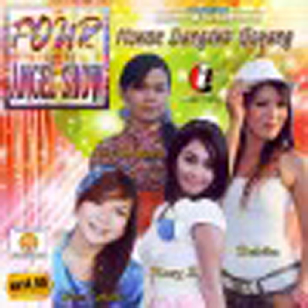 FOUR ANGEL SHOW - House Dangdut Goyang (VCD) 77539 (front)