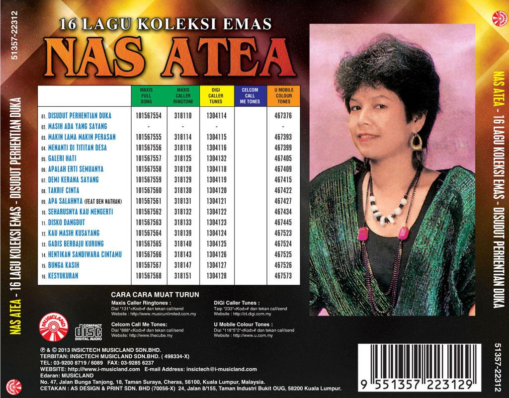 Nas Atea 16 Lagu Koleksi Emas Cd I Musicland