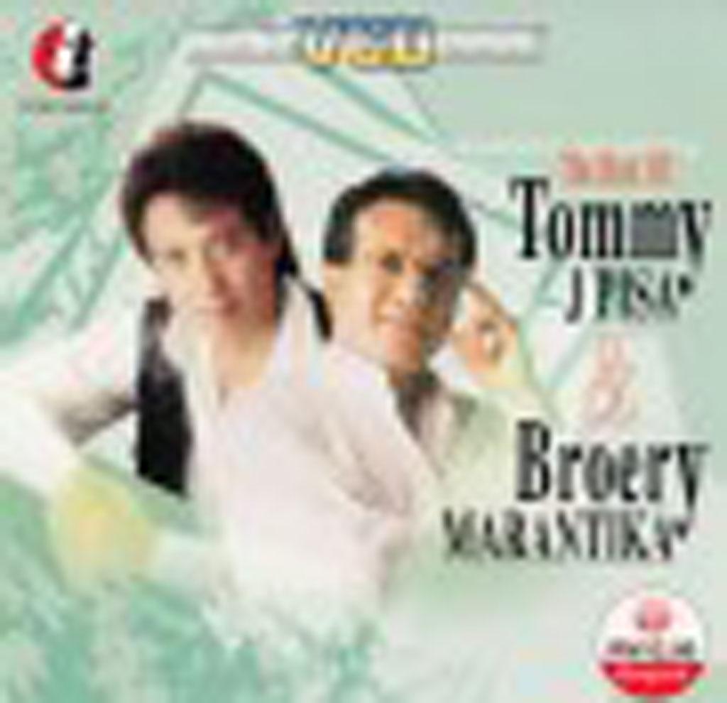 The Best Of Tommy J Pisa & Broery Marantika VCD 65159 (Front)